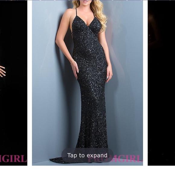 68b6245a1197 Dresses   Scala Black Sequin Dress   Poshmark